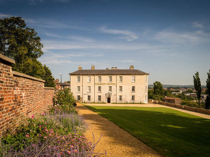 the talbot hotel, a dog friendly hotel in yorkshire
