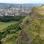 """Dog Walks on Arthur's Seat by Spencer Means licensed under CC BY-SA 2.0"""
