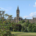 """Dog Walking in Kelvingrove Park by Jean-Pierre Dalbéra licensed under CC BY 2.0"""