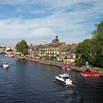 river ouse, a great place to walk your dog in york