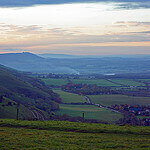 """Dog Walking on The Devil's Dyke by Gareth Williams licensed under CC BY 2.0"""