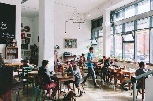 the fumbally, a dog friendly restaurant in dublin