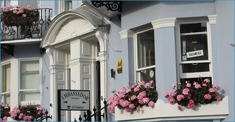 Ambassador Brighton, a dog friendly B&B in Brighton