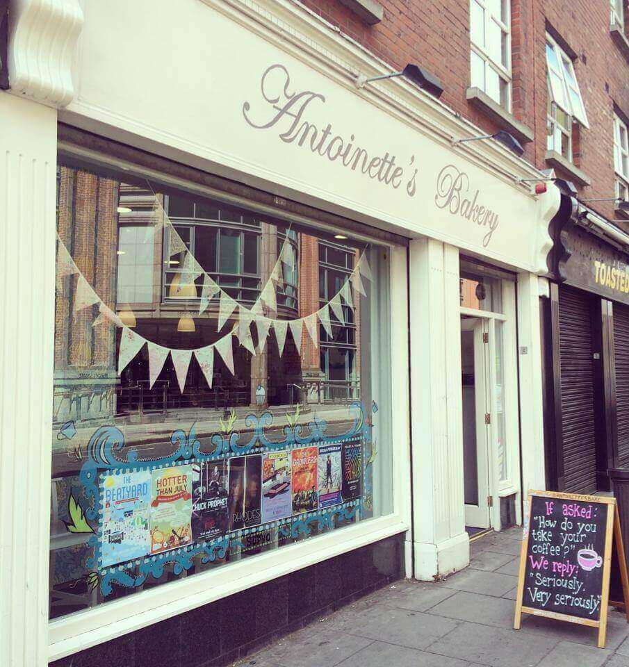 antoinette's bakery, a dog friendly bakery in Dublin