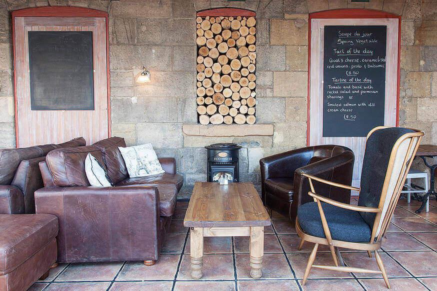 cafe tartine, a dog friendly place in edinburgh