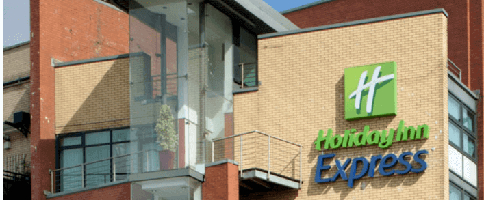 holiday inn express, a dog friendly place to stay in glasgow