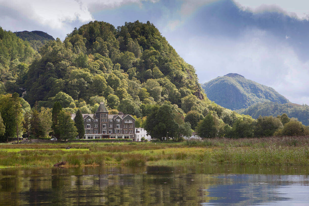Lodore Falls Hotel, a dog friendly hotel in the lake district.