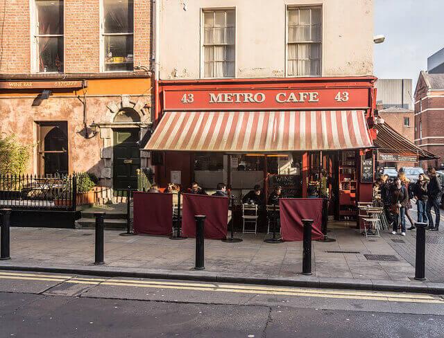 metro cafe, a dog friendly pub in dublin.
