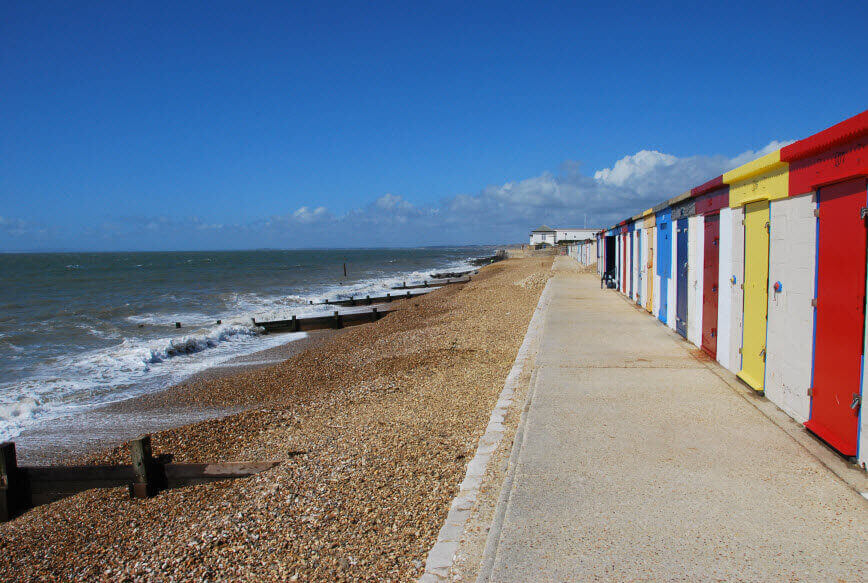 Mileford on Sea, a dog friendly beach in Hampshire