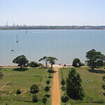 royal victoria country park, a great place to walk your dog in southampton
