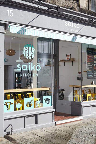 saiko kitchen, a dog friendly restaurant in edinburgh
